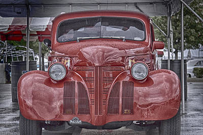 Photograph - Big Red One by Jack R Perry
