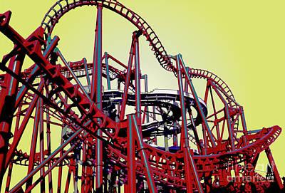 Big Red The Roller Coaster Original