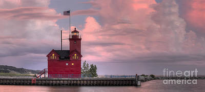 Holland Michigan Photograph - Big Red by Twenty Two North Photography