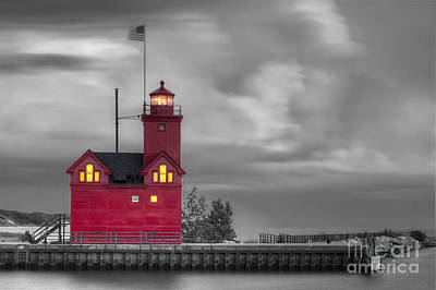 Frame House Photograph - Big Red by Twenty Two North Photography