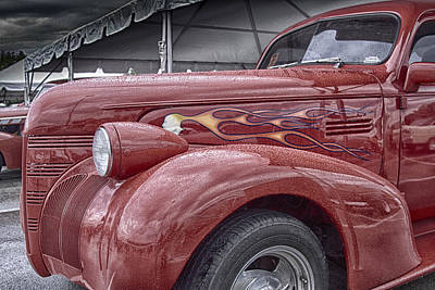 Photograph - Big Red Two by Jack R Perry