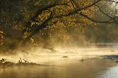 Photograph - Big River Autumn by Garry McMichael