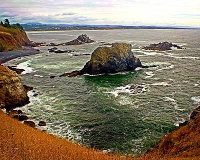 Big Rock Beach Art Print by Marty Koch