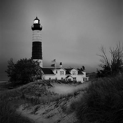Photograph - Big Sable Point Light by Jeff Burton