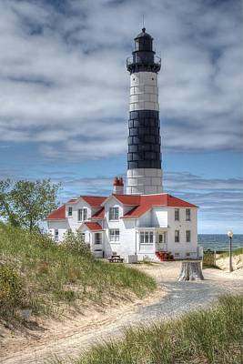 Big Sable Point Lighthouse Art Print by Bruce Wilbur