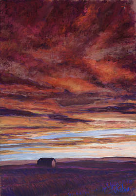 Red Roses - Big Sky by Billie Colson