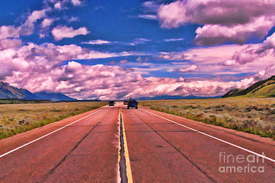 Outerspace Patenets Rights Managed Images - Big Sky Country Royalty-Free Image by Allen Beatty
