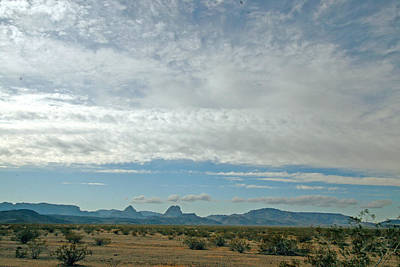 Photograph - Big Sky In The Desert by Amelia Painter