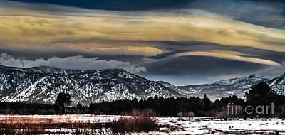 Big Sky Art Print by Mitch Shindelbower