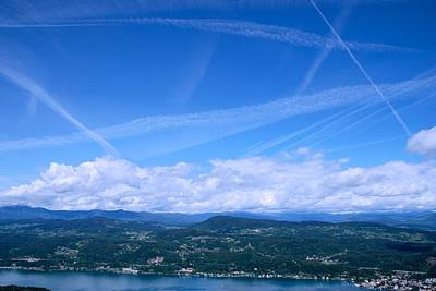 Photograph - Big Sky Over Austria by Eric Tressler