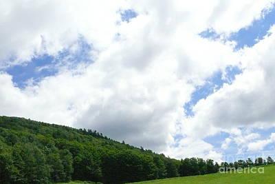 Big Sky Over Hayfield Original
