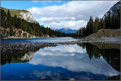 Photograph - Big Sky Reflection by John McArthur