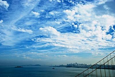 Photograph - Big Sky San Francisco by Eric Tressler