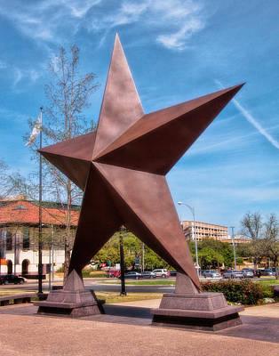 Photograph - Big Star Of Texas by David and Carol Kelly