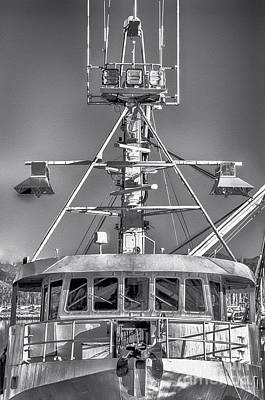 Boats Photograph - Big Steel Vessel by David Millenheft