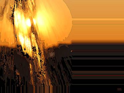 Digital Art - Luminous Sunrise by Augusta Stylianou