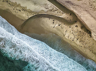 Aerial Photograph - Big Sur Aerial by Rob Darby