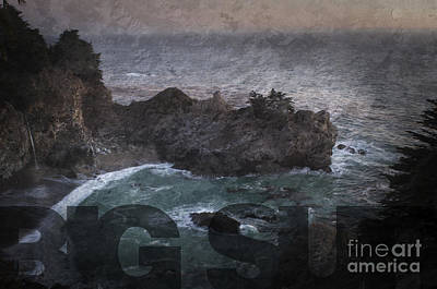 Photograph - Big Sur by Art Whitton