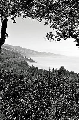Photograph - Big Sur B And W by Caroline Stella