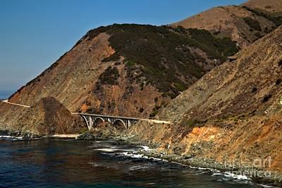 Photograph - Big Sur Bridge by Adam Jewell