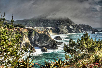 Photograph - Big Sur Coast 2 by SC Heffner