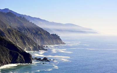 Photograph - Big Sur Coast by AJ  Schibig