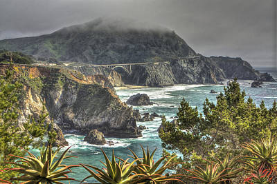 Photograph - Big Sur Coast And Bixby Bridge by SC Heffner