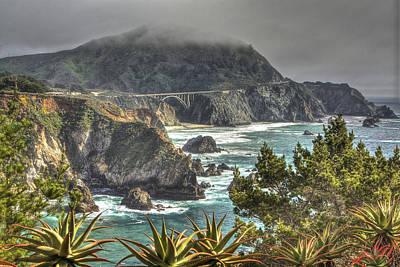 Photograph - Big Sur Coast And Bixby Bridge by SC Heffner