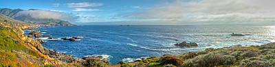 Photograph - Big Sur Coast Pano 2 by SC Heffner