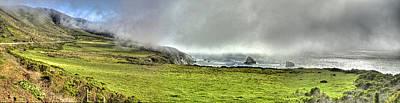 Photograph - Big Sur Coast Pano by SC Heffner