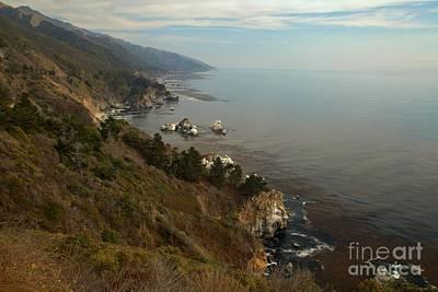 Photograph - Big Sur Coastal Cliffs by Adam Jewell