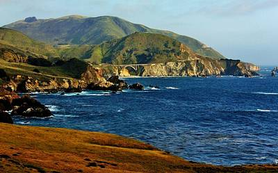 Photograph - Big Sur Coastline by Benjamin Yeager