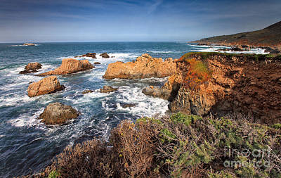 Photograph - Big Sur Coastline II by Stuart Gordon