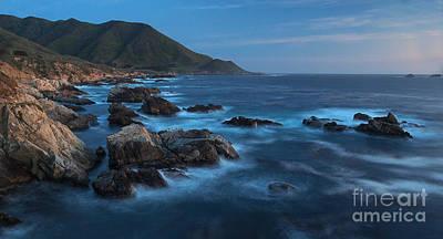 Big Sur Beach Photograph - Big Sur Coastline by Mike Reid