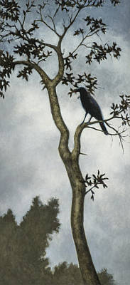 Crow Painting - Big Sur by David Palmer
