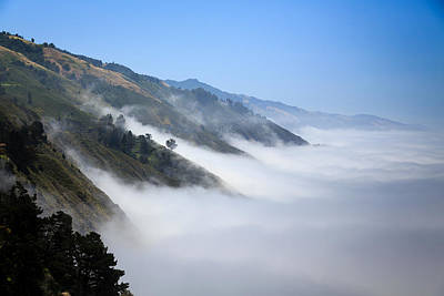 Photograph - Big Sur Fog by Mathew Lodge