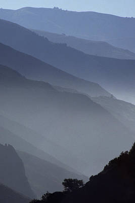 Big Sur From The North Art Print by Austin Brown