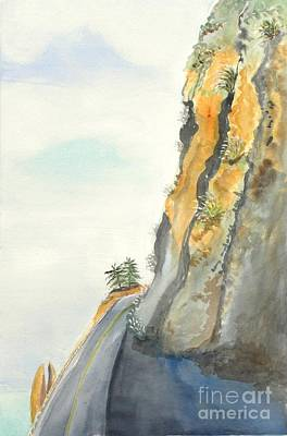Big Sur Highway One Art Print by Susan Lee Clark