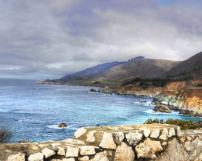 Art Print featuring the photograph Big Sur by Kandy Hurley