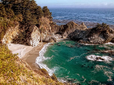 Photograph - Big Sur - Mcway Falls by Glenn McCarthy Art and Photography