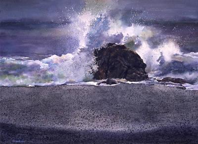 Big Sur Revisited Art Print by Tom Wooldridge