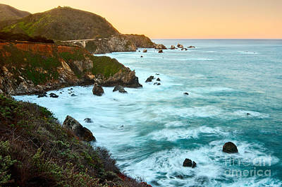 Big Sur Sunrise Art Print by Jamie Pham