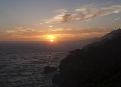 Photograph - Big Sur Sunset by Derek Dean