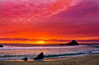 Big Sur Sunset Pfeiffer Beach Original