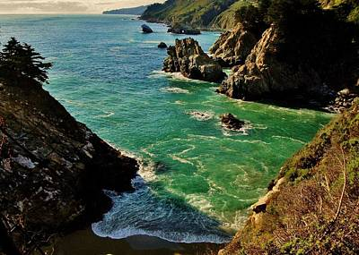 Photograph - Big Sur Vista by Benjamin Yeager