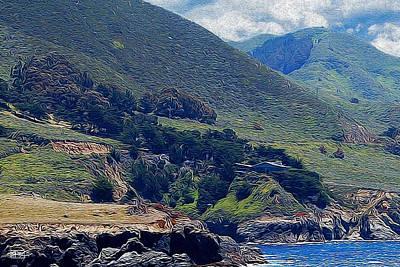 Photograph - Big Sur Vista by Jim Pavelle