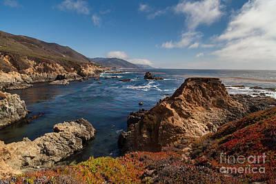 Big Sur California Photograph - Big Sur Vista by Mike Reid