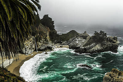 Photograph - Big Sur's Emerald Oaza by Eduard Moldoveanu