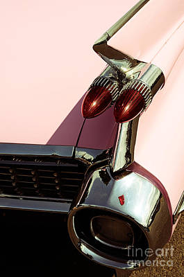 Pink Hot Rod Photograph - Big Taillight by Andreas Berheide