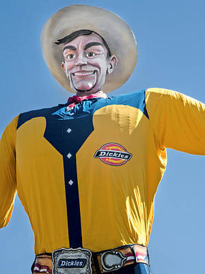 Photograph - Big Tex 1952 - 2012 by David and Carol Kelly